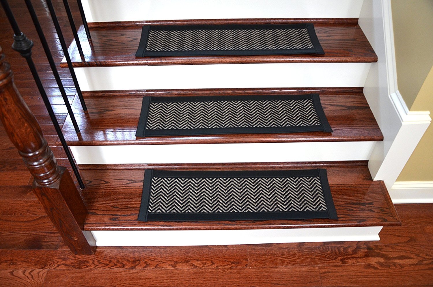Amazon Dean Hatteras Flatweave Indooroutdoor Carpet Stair Pertaining To Indoor Outdoor Carpet Stair Treads (Image 3 of 15)