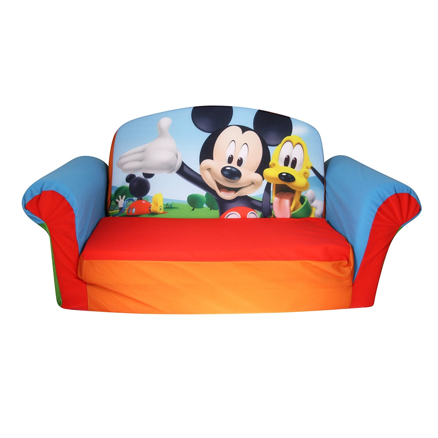 Amazon Marshmallow Furniture Childrens 2 In 1 Flip Open Intended For Disney Sofa Chairs (View 15 of 15)