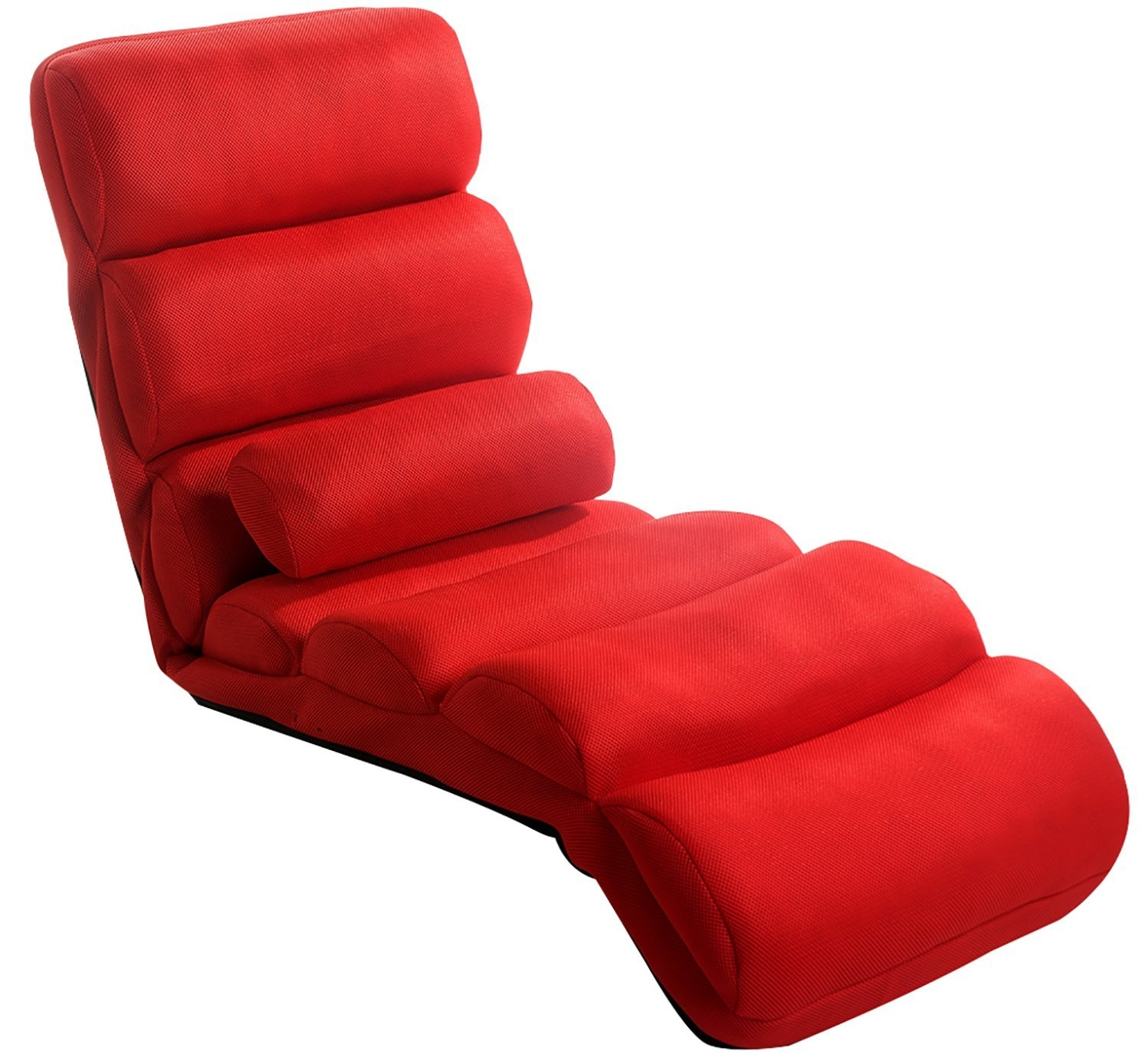 Amazon Merax Relaxing Foldable Lazy Sofa Chair With Pillow In Lazy Sofa Chairs (Image 3 of 15)