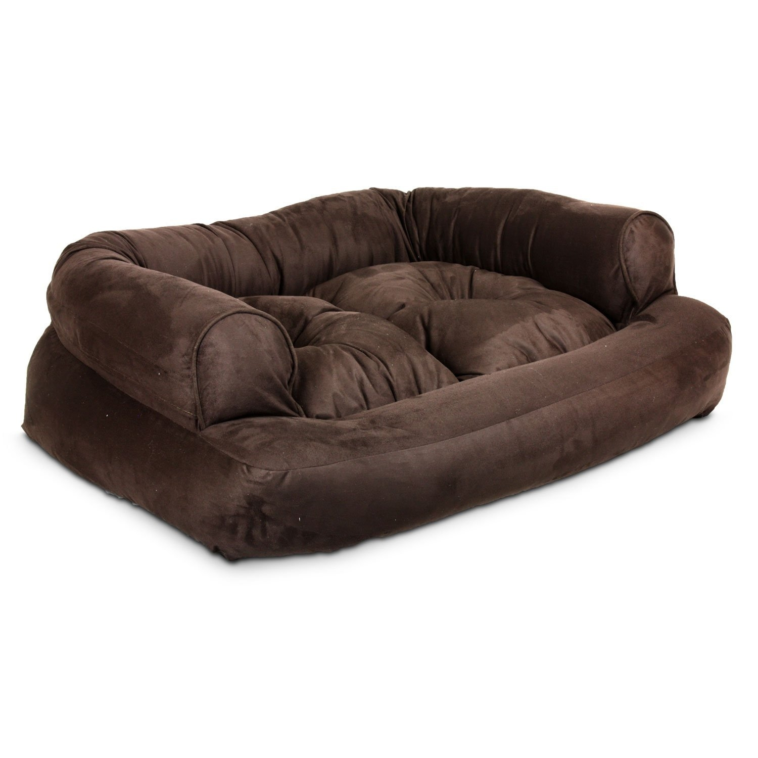 Amazon Snoozer Overstuffed Luxury Pet Sofa X Large Hot Inside Sofas For Dogs (Image 1 of 15)