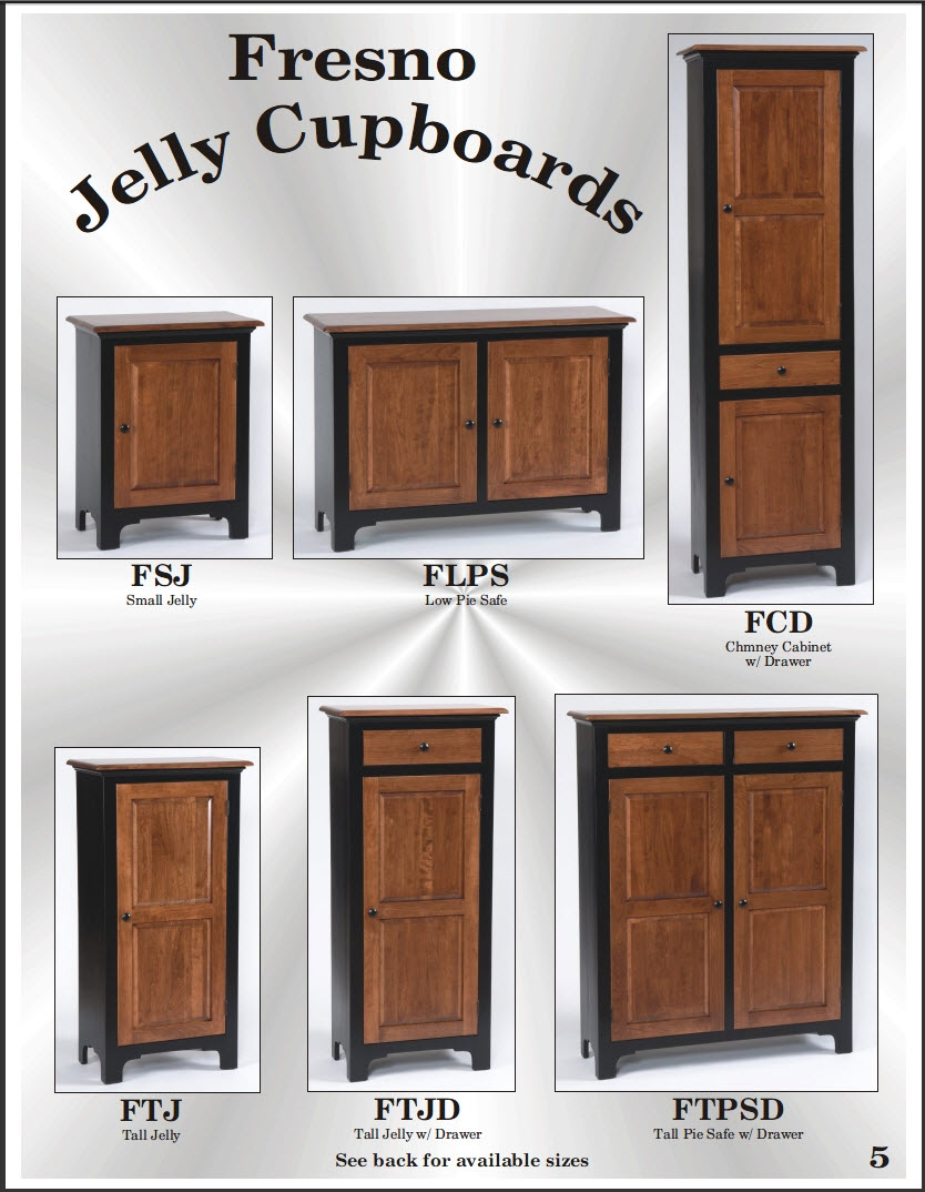 Amish Cupboards Jelly Cupboards Pie Safes Chimney Cupboards In Cupboards (Image 1 of 15)