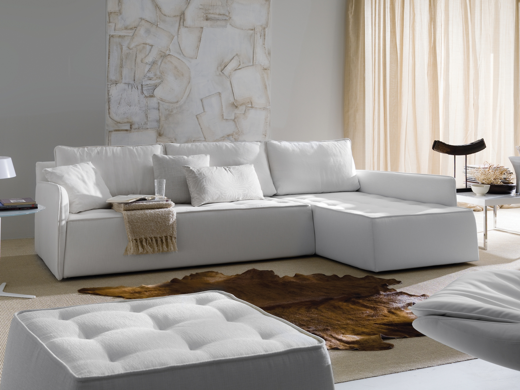 Antares Corner Sofa Bontempi Casa Design Marco Corti Within Sofa With Removable Cover (Image 1 of 15)
