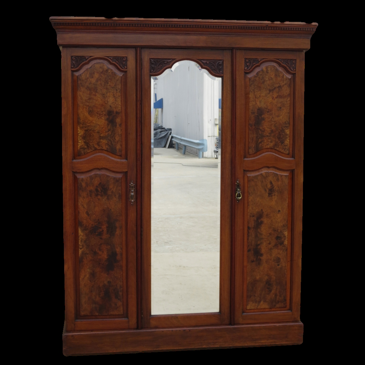 Antique Armoires Antique Wardrobes And Antique Furniture From Pertaining To Large Wooden Wardrobes (Image 3 of 25)
