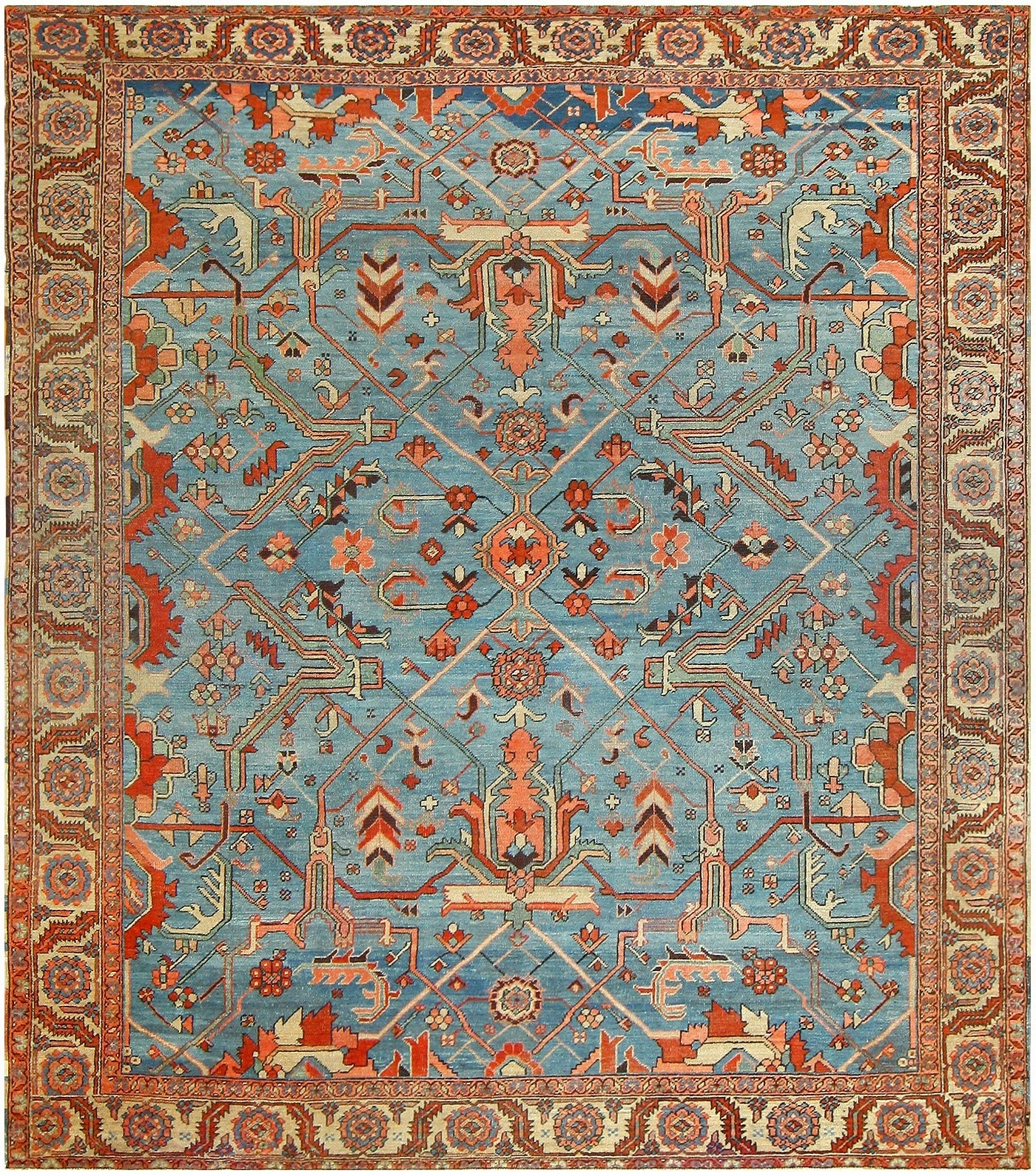 Antique Oriental Rugs Within Oriental Persian Rugs (Image 1 of 15)