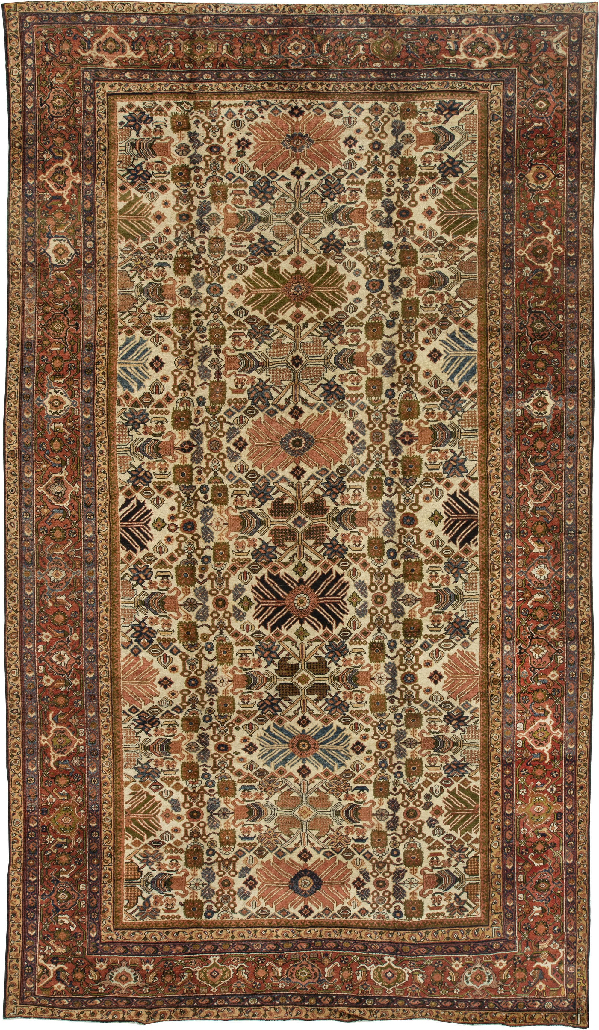 Antique Persian Rugs And Antique Oriental Rugs With Persian Rugs (Image 2 of 15)