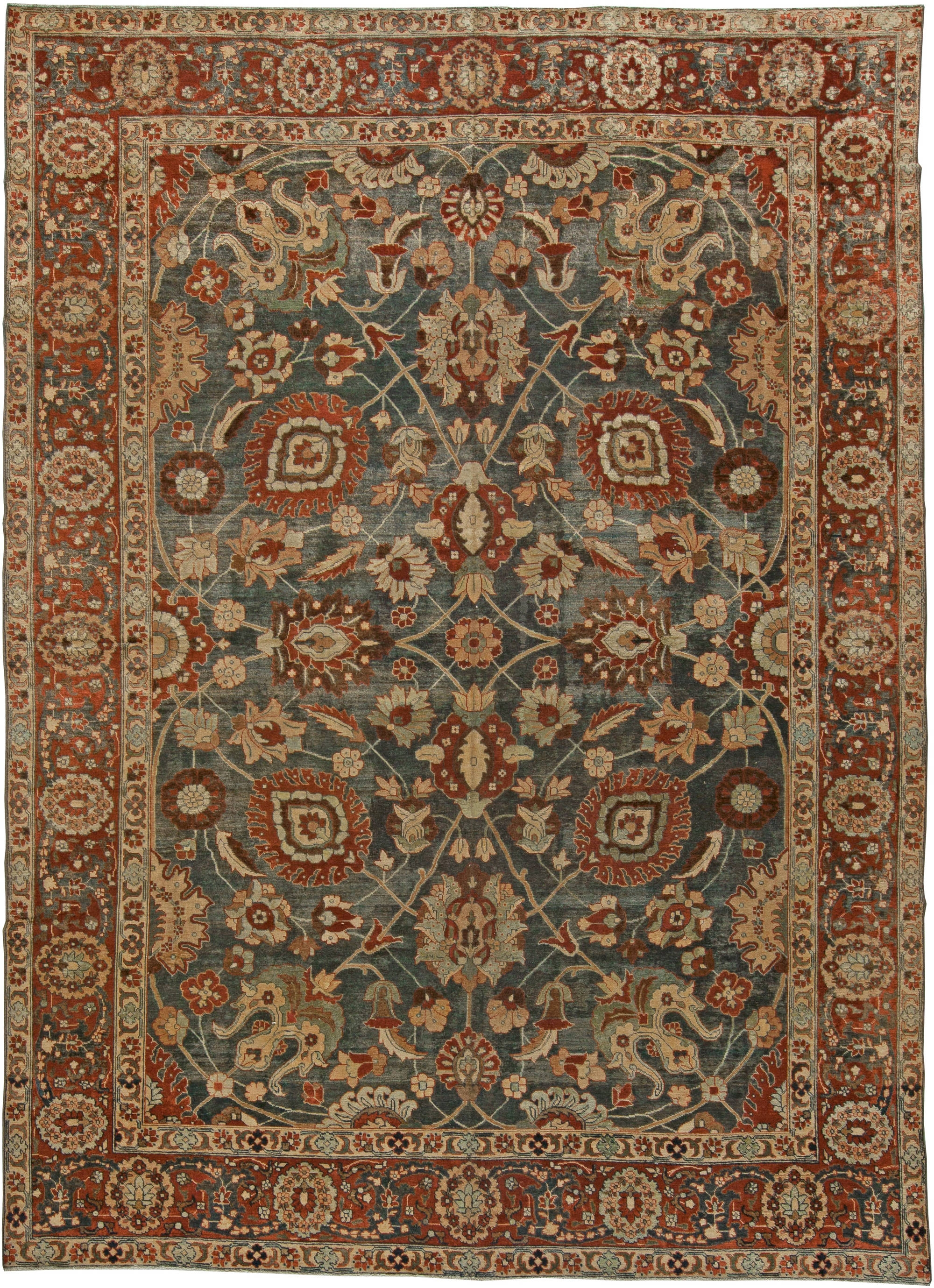 Antique Persian Rugs And Antique Oriental Rugs With Persian Rugs (Image 1 of 15)