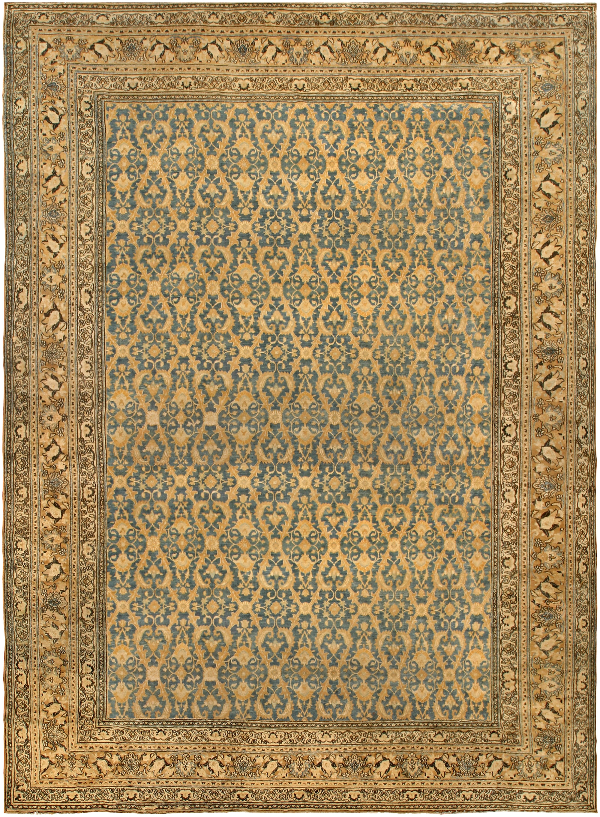 Antique Rugs From Doris Leslie Blau New York Antique Carpets Pertaining To Green Persian Rugs (Image 2 of 15)