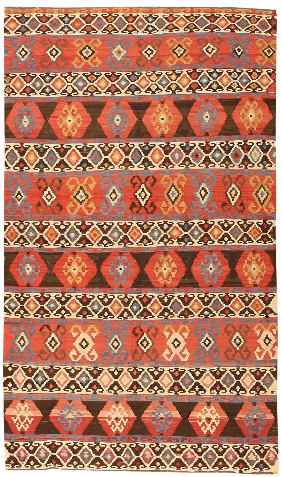 Antique Tribal Caucasian Kilim Rug 43798 Nazmiyal Antique Rugs For Kilim Rugs (Image 3 of 15)