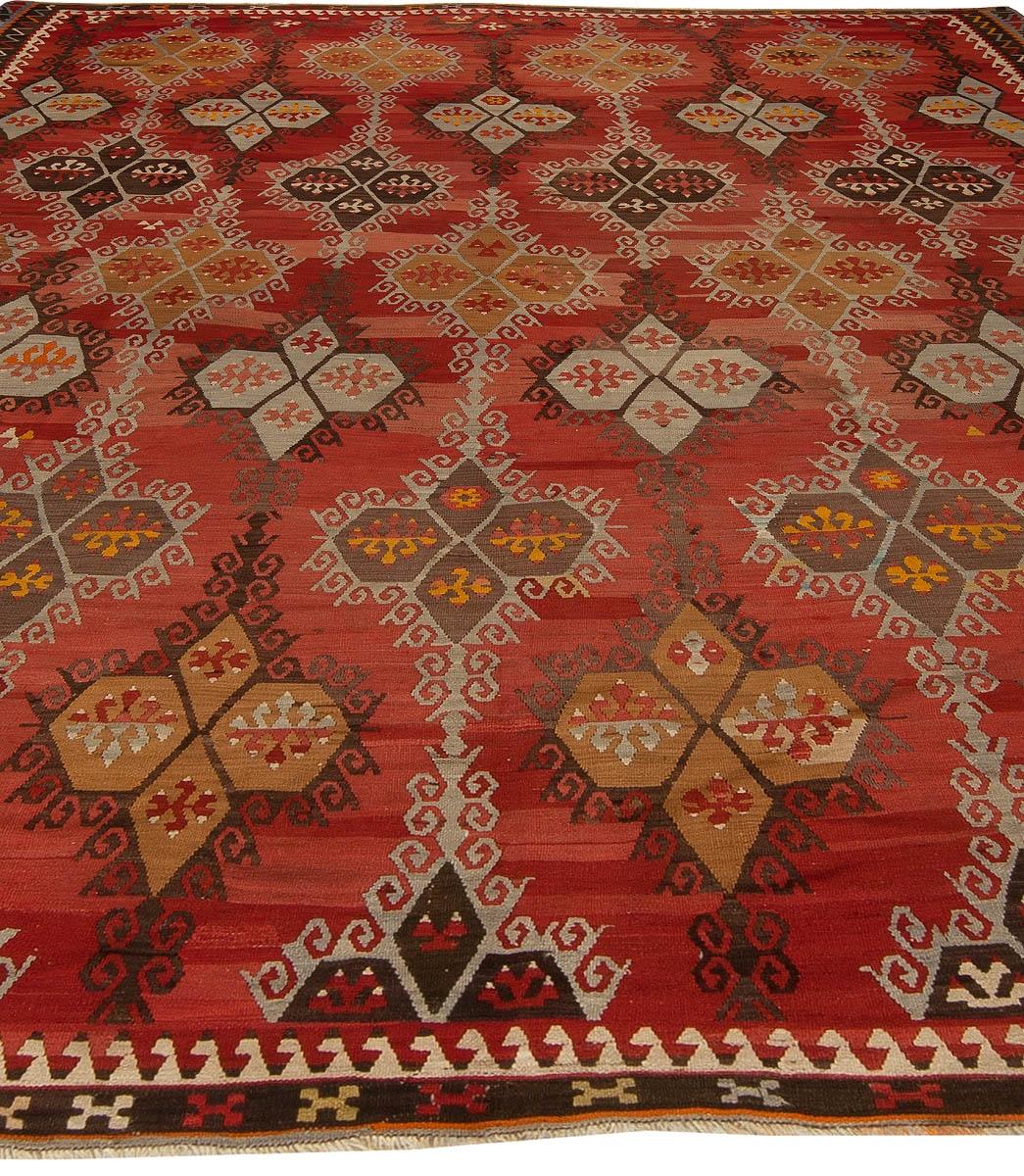 Antique Turkish Kilim Rug Bb5428 Doris Leslie Blau For Kilim Rugs (Image 4 of 15)