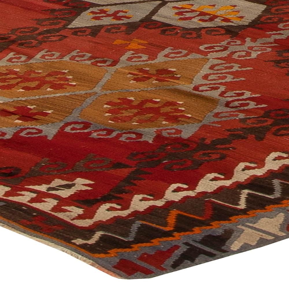 Antique Turkish Kilim Rug Bb5428 Doris Leslie Blau For Turkish Kilim Rugs (Image 1 of 15)