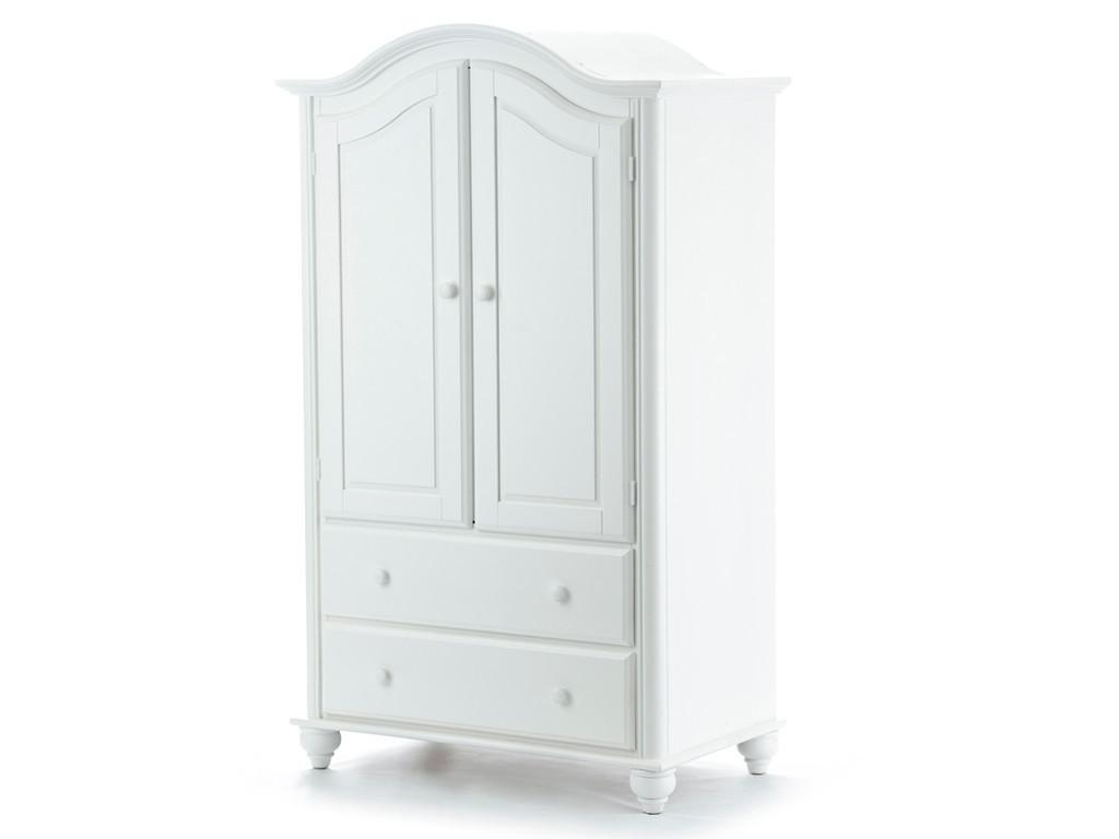 Antique White Armoire Ideas Come Home In Decorations Regarding White Wardrobe Armoire (Image 1 of 25)