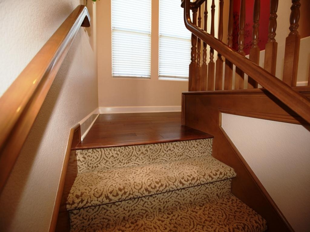 Applying Carpet Stair Treads To Increase The Beauty Stair For Carpet Treads For Hardwood Stairs (Image 2 of 15)