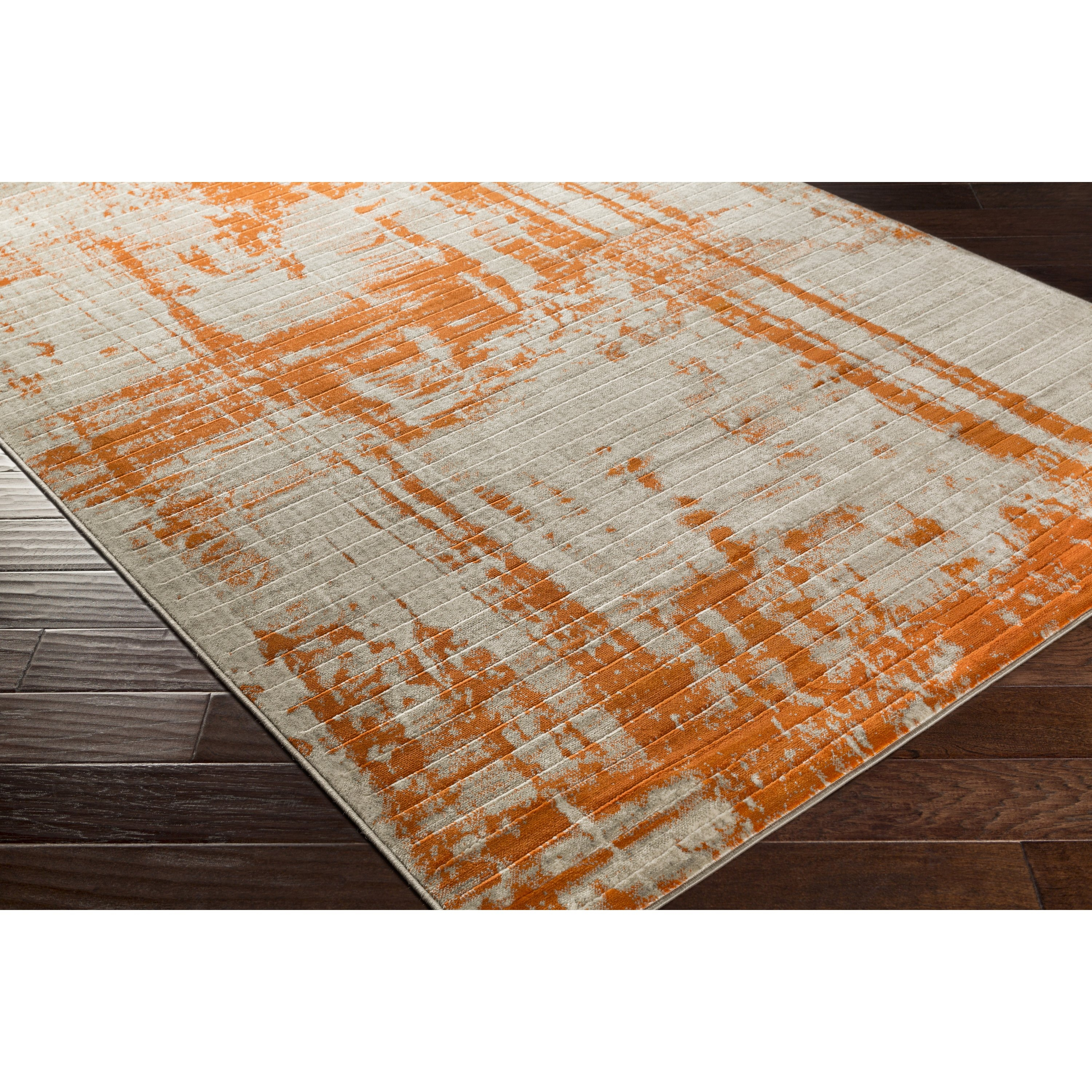 Area Rugs Astounding Gray And Orange Area Rug Yellow And Orange In Orange Floor Rugs (Image 2 of 15)