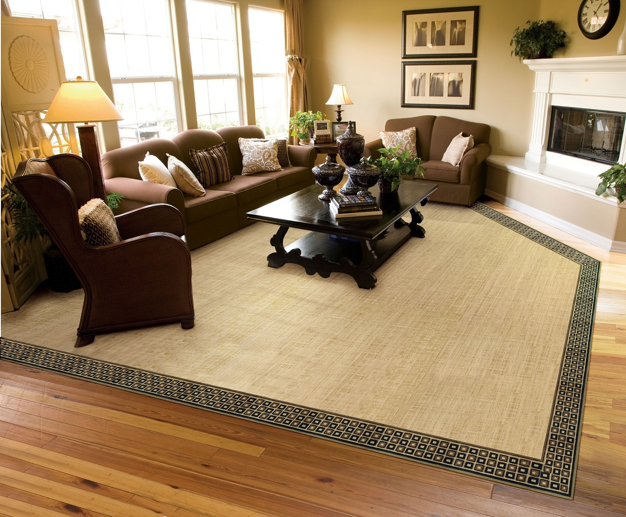 Area Rugs Carpet Hardwood Laminate Flooring In San Francisco With Regard To Customized Rugs (Image 1 of 15)