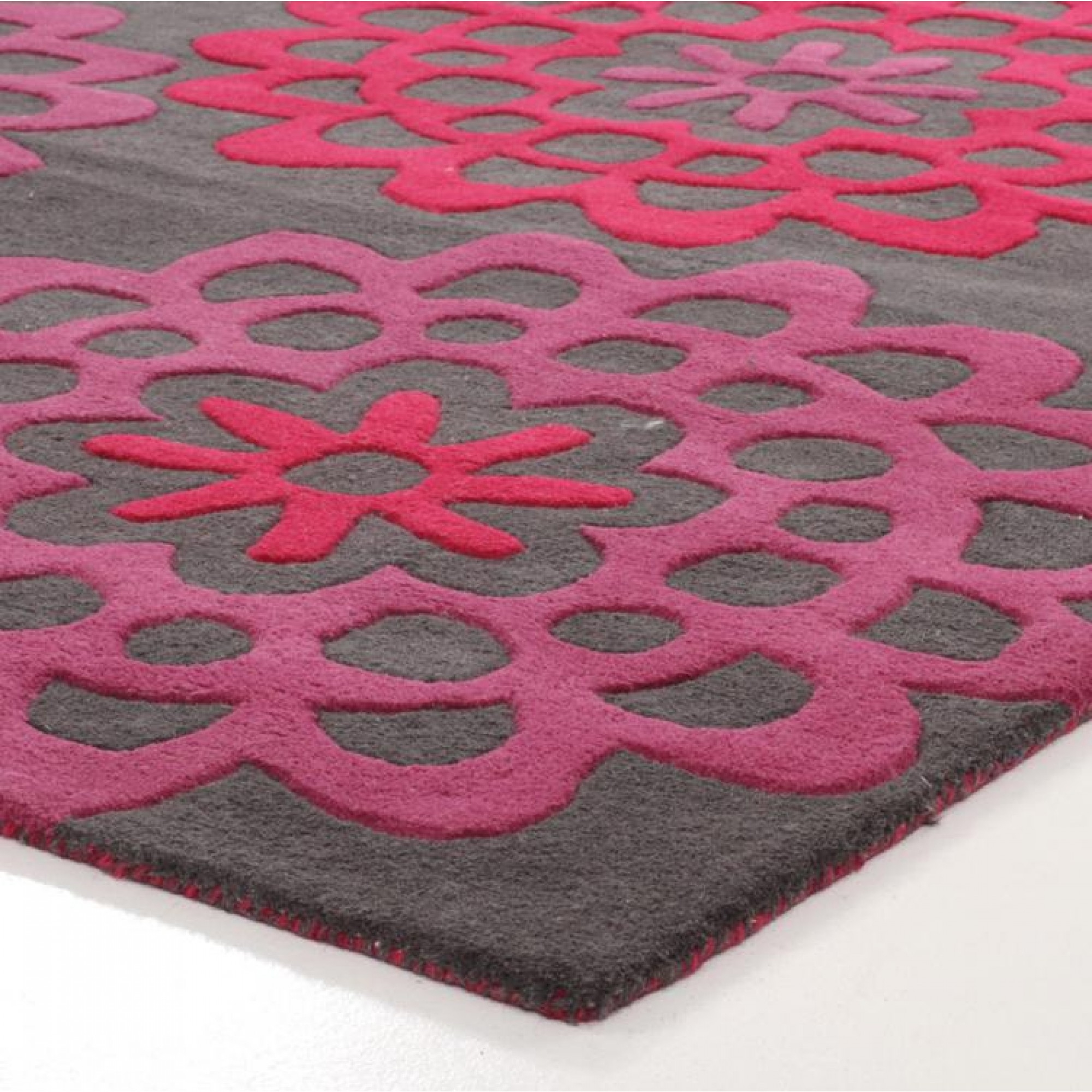 Area Rugs Glamorous Pink And Grey Area Rug Ikea Pink Rug Light With Pink Pattern Rugs (Image 5 of 15)