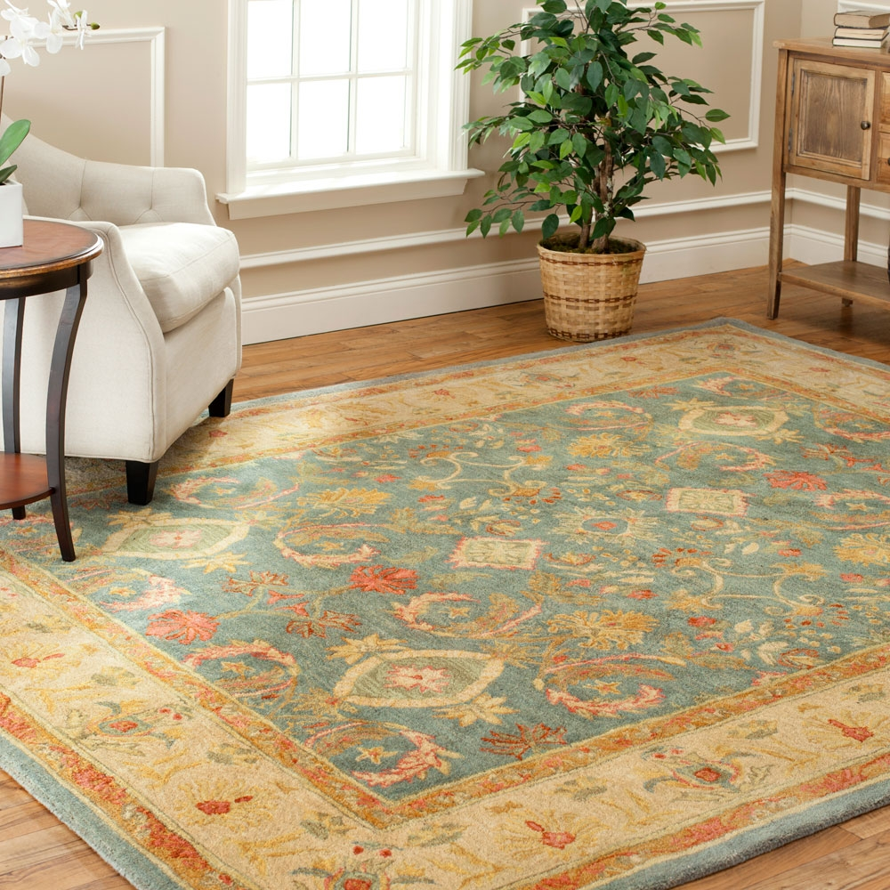 Area Rugs Outstanding 9×9 Area Rug Square Rugs 9×9 9 Square Rug Pertaining To Light Blue And Cream Rugs (Image 2 of 15)
