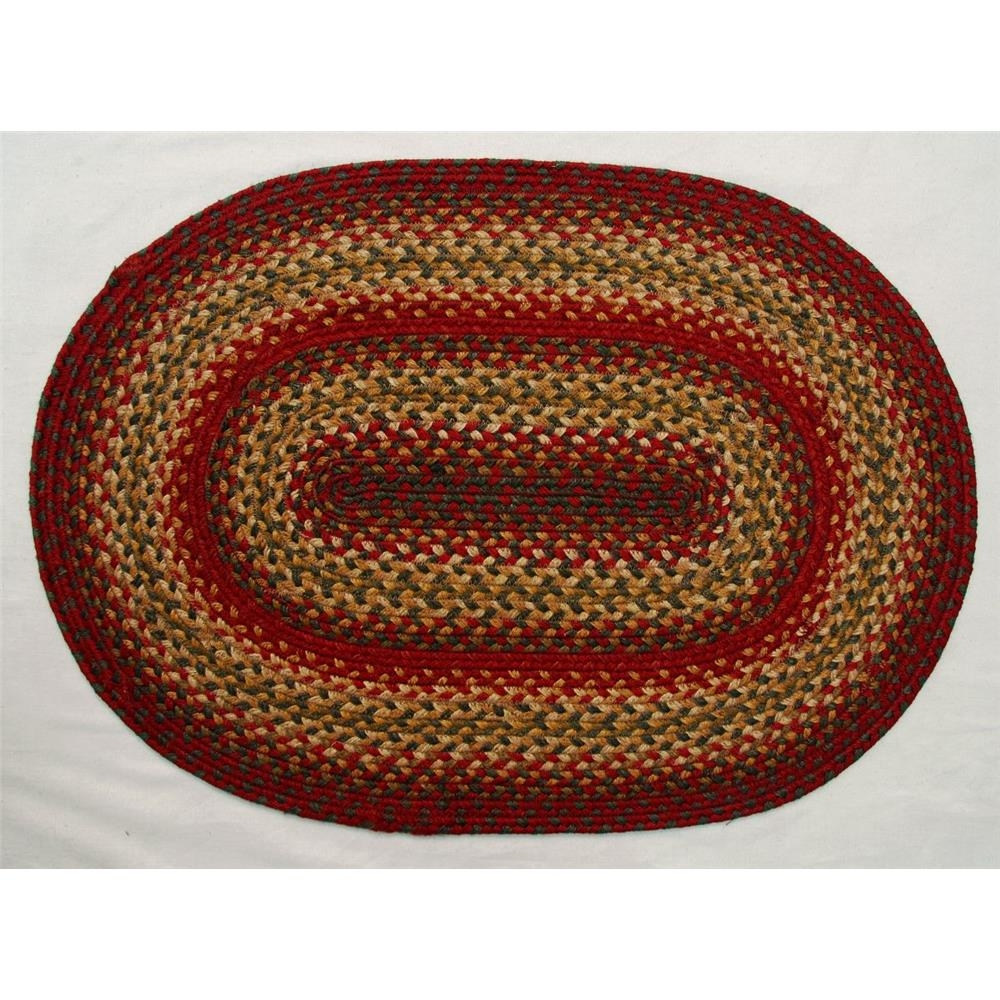 Area Rugs Weave Braided Goingrugs With Oval Rugs (Image 3 of 15)
