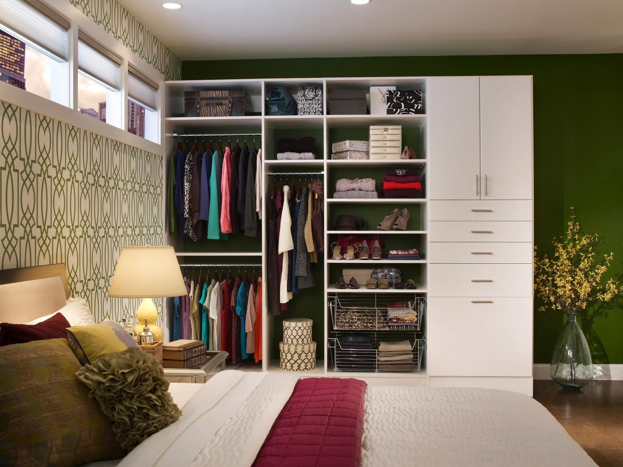 Armoires And Wardrobes Closet Storage Ideas And Solutions Hgtv Throughout Bedroom Wardrobe Storages (View 21 of 25)