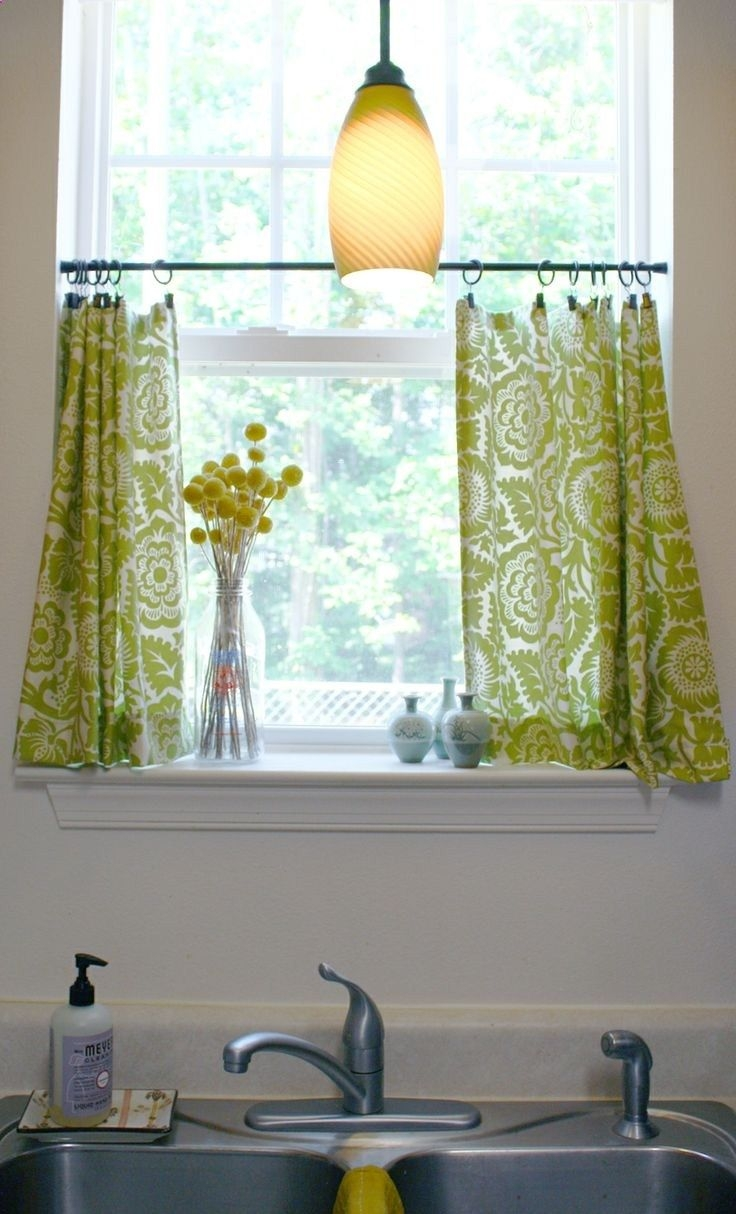 Arresting Images Wonderful White And Black Curtains For Living Pertaining To Sage Green Kitchen Curtains (Image 1 of 25)