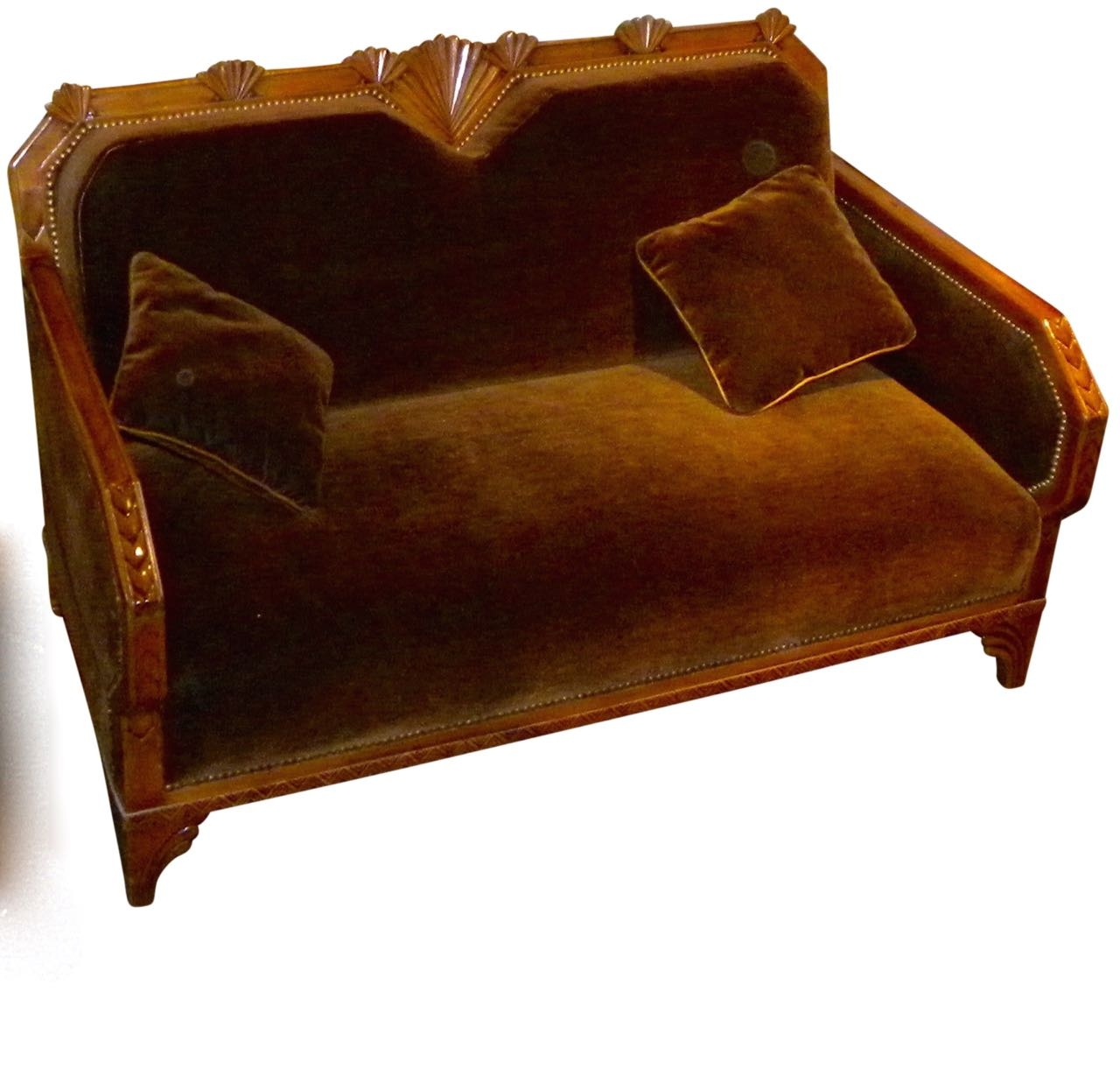 Art Deco Furniture For Sale Seating Items Art Deco Collection Inside Art Deco Sofa And Chairs (Image 4 of 15)