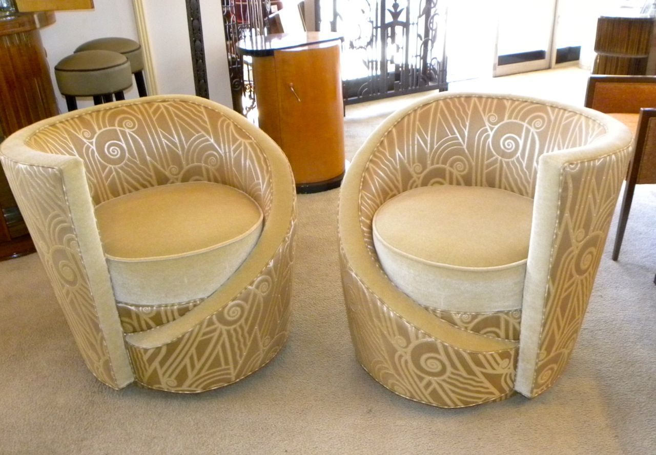 Art Deco Furniture Sold Seating Items Art Deco Collection With Regard To Art Deco Sofa And Chairs (Image 7 of 15)