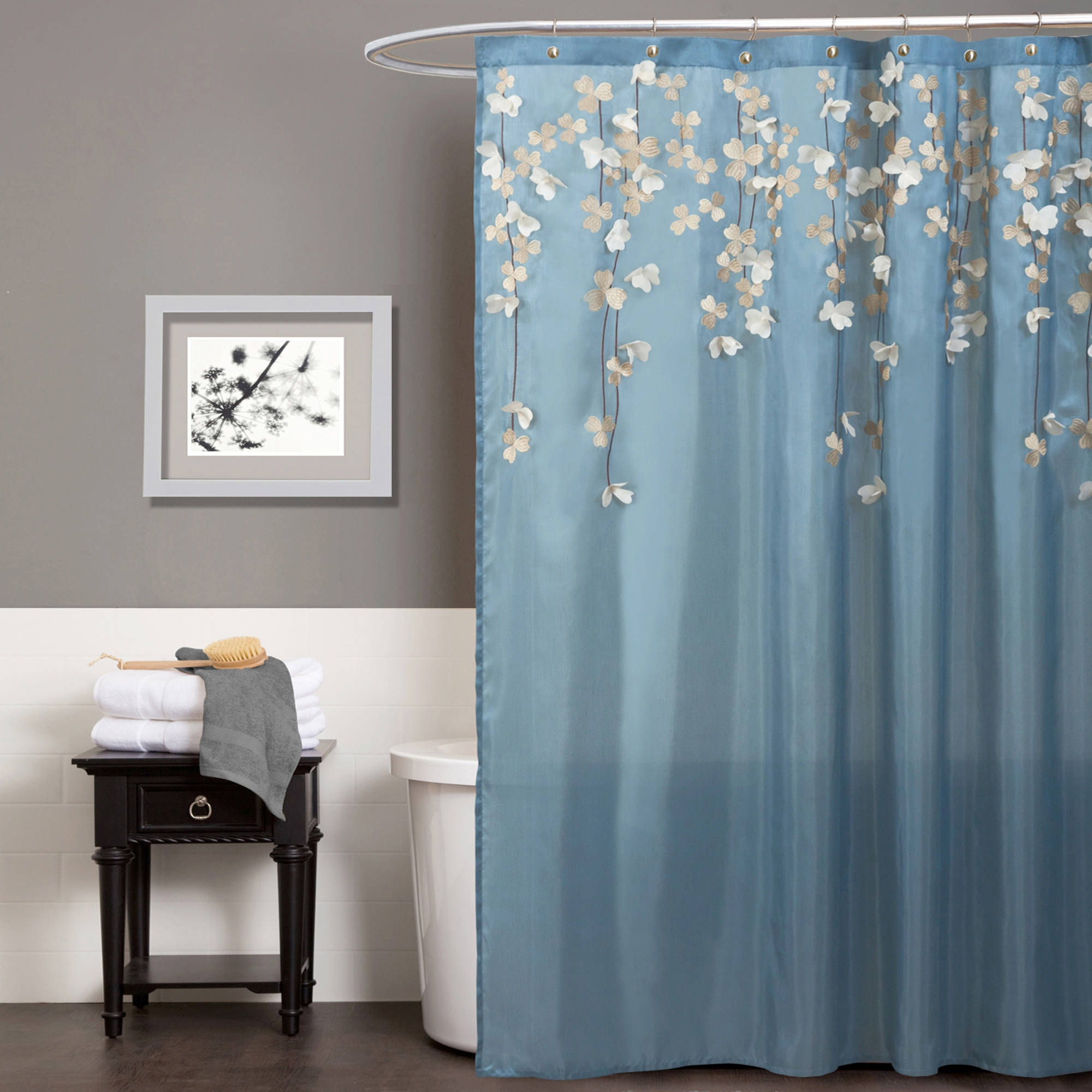 Asian Inspired Shower Curtain Curtains Decoration With Regard To Asian Curtains Drapes (Image 9 of 25)