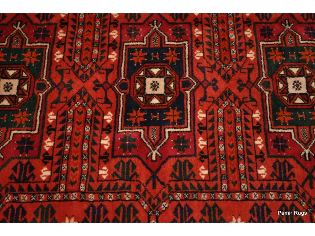 Authentic Turkmen Saryk Antique Handmade Rug Circa 1930s For Handmade Rugs (Image 2 of 15)