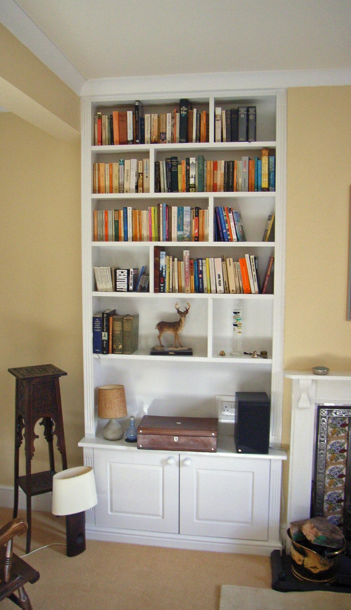 Av Unit With Lit Alcove Shelving Alcove Pinterest Alcove Inside Shelves And Cupboards (Image 2 of 15)