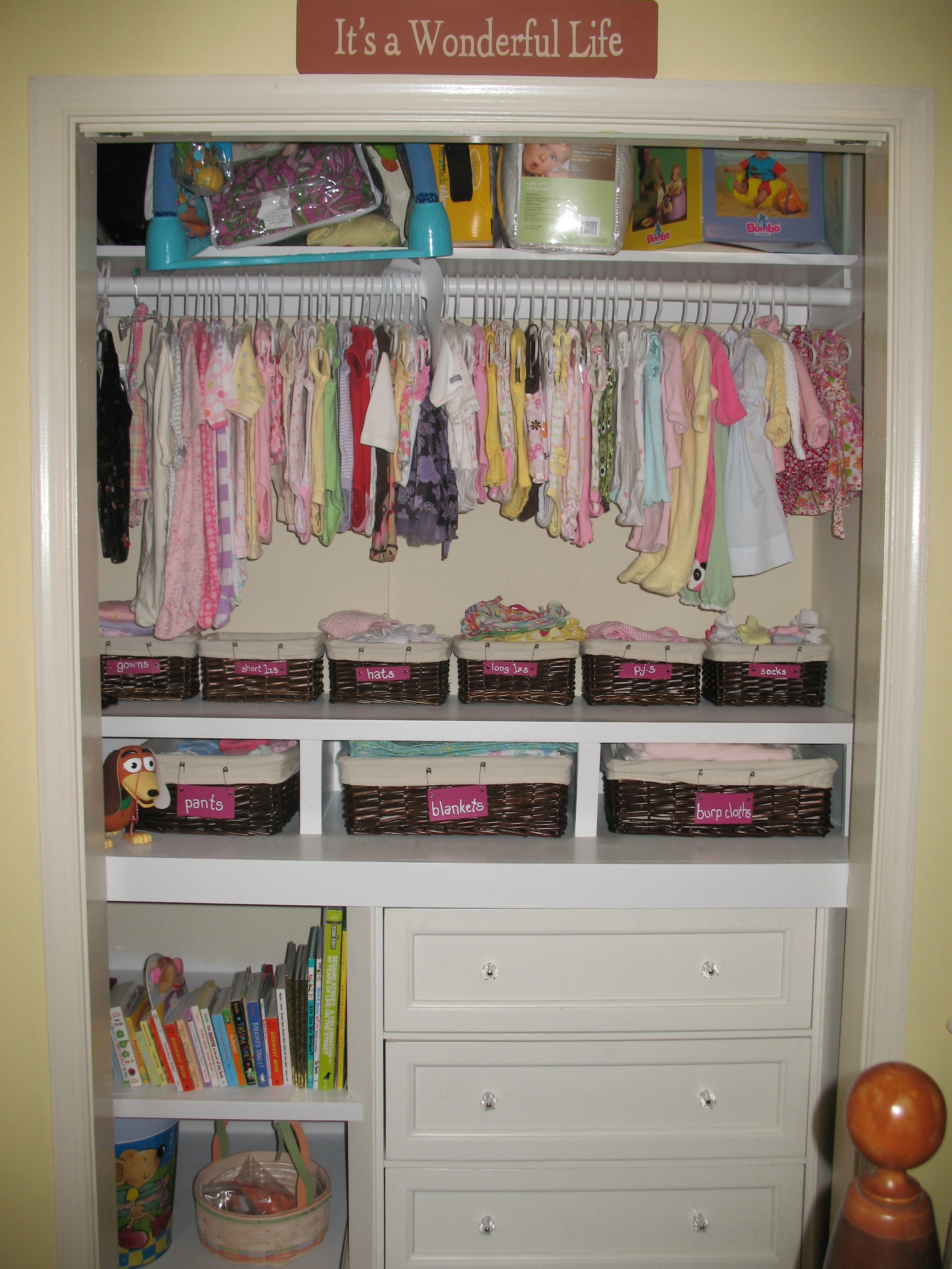 Awesome Ba Clothes Storage Ideas 105 Childrens Closet Storage Intended For Wardrobe For Baby Clothes (Image 5 of 25)
