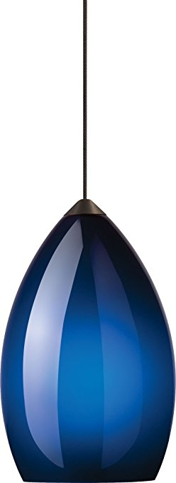 Awesome Best Blue Pendant Light Fixtures Intended For Tech Lighting Firefrost Cobalt Blue Pendant Light Ceiling (Image 3 of 25)