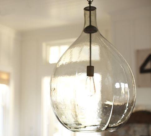 Awesome Best Glass Jug Pendants With Regard To Glass Light Pendants Hbwonong (Image 2 of 25)