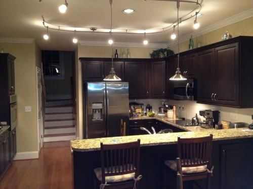 Awesome Best Stainless Steel Pendant Lights For Kitchen Pertaining To Best 25 Kitchen Track Lighting Ideas On Pinterest Farmhouse (Image 4 of 25)