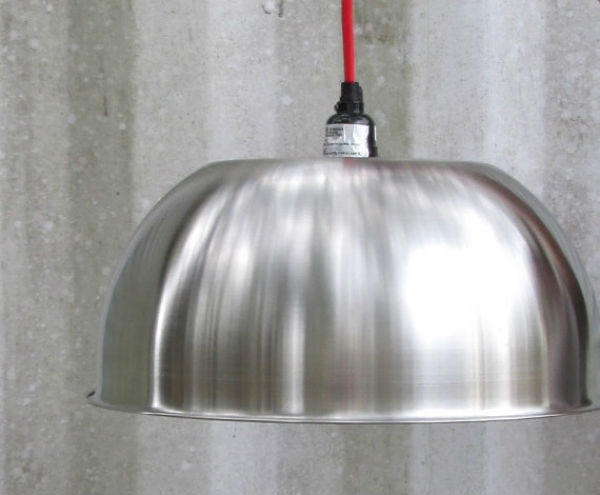 Awesome Brand New Stainless Steel Pendant Light Fixtures For Astonishing Diy Light Fixtures Stainless Steel Bowls And Steel (Image 2 of 25)