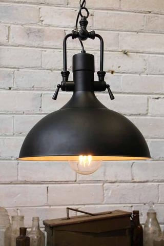 Awesome Common Large Dome Pendant Lights Regarding Industrial Pendant Light (Image 4 of 25)