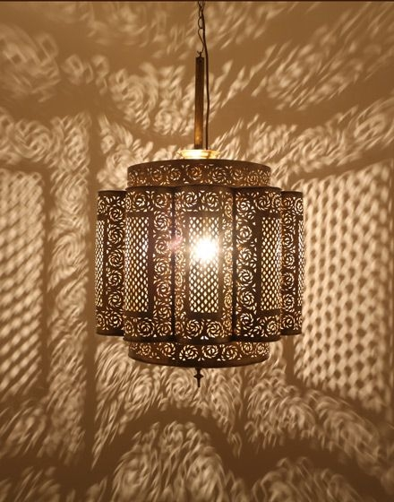 25 Inspirations Moroccan Punched Metal Pendant Lights