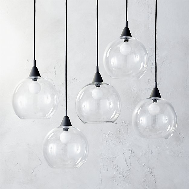 Awesome Deluxe Crate And Barrel Pendant Lights With Regard To Firefly Dining Room Pendant Light Cb (Image 3 of 25)