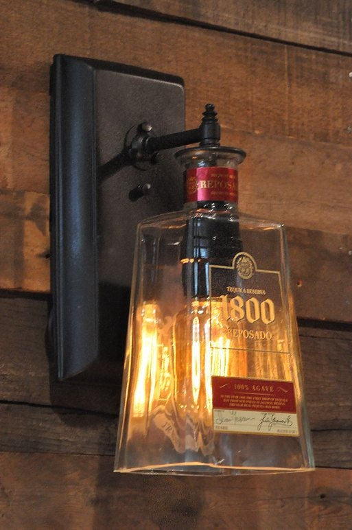 Awesome Deluxe Liquor Bottle Pendant Lights Intended For Best 20 Liquor Bottle Lights Ideas On Pinterest Liquor Bottle (Image 5 of 25)