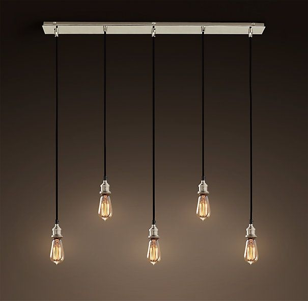 Awesome Famous Exposed Bulb Pendant Track Lighting Inside 182 Best Lighting Images On Pinterest (View 4 of 25)
