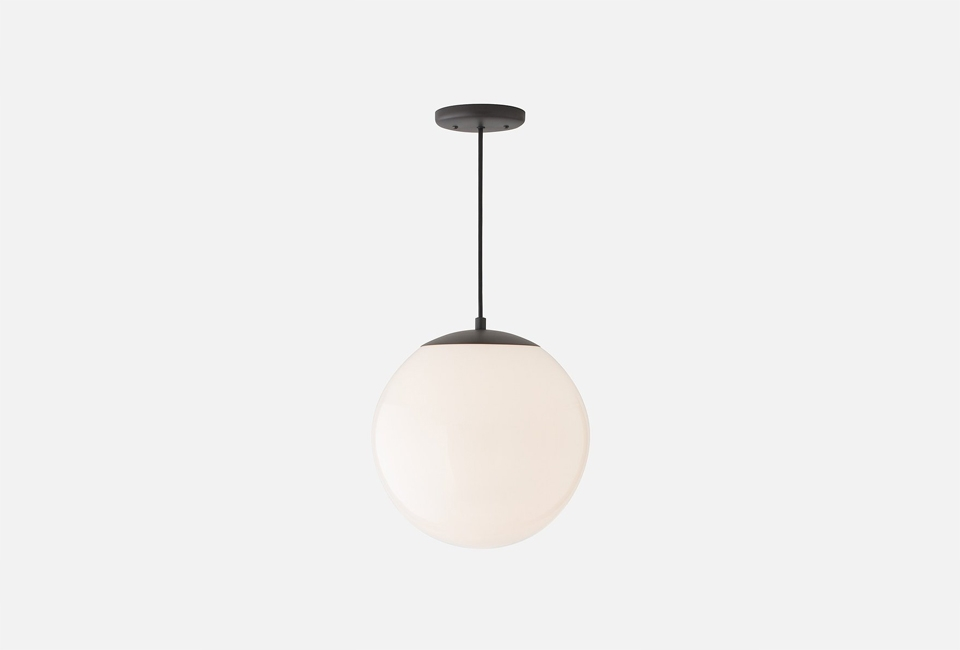 Awesome Fashionable Globes For Pendant Lights With Regard To 10 Easy Pieces White Globe Pendant Lights Remodelista (Image 5 of 25)