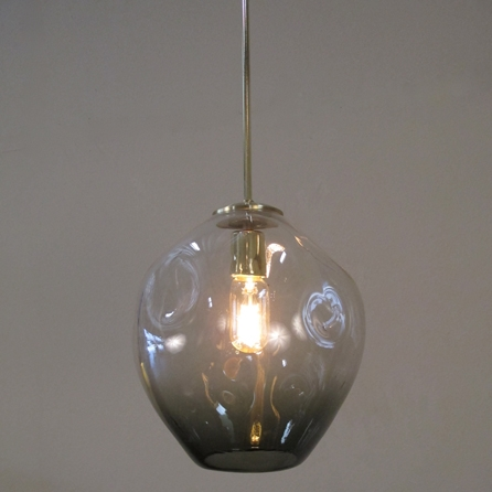 Awesome Favorite Hand Blown Glass Pendant Lights Inside Contemporary And Industrial Style Lighting Chandelier (Image 3 of 25)
