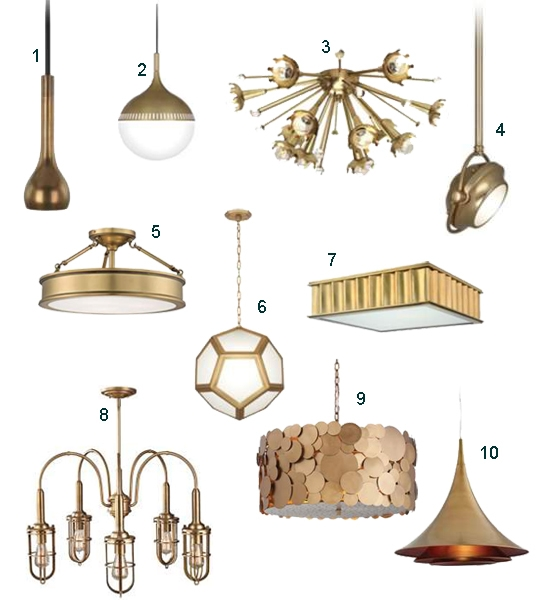 Awesome Favorite Lamps Plus Pendant Lights Pertaining To 5 Ways To Add Brass Lighting In The Kitchen Home Decorating Blog (Image 3 of 25)