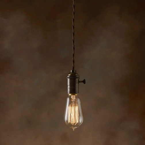 Awesome Favorite Pendant Light Edison Bulb With Bulbrite 134019 40w Nostalgic Edison Squirrel Cage Style Bulb (Image 6 of 25)