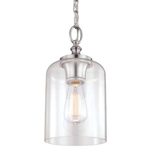 Awesome Favorite Stainless Steel Pendant Lights Intended For Stainless Steel Mini Pendant Lighting Bellacor (Image 1 of 25)