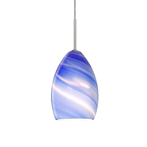 Awesome High Quality Blue Pendant Light Fixtures Intended For Blue Mini Pendant Lighting Bellacor (View 3 of 25)