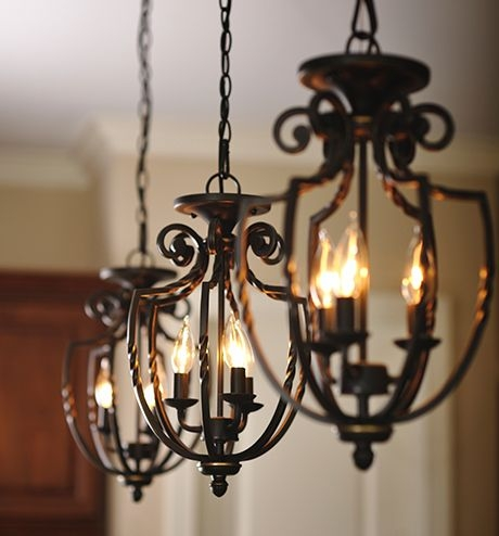 Awesome Latest Wrought Iron Light Fittings Inside Best 25 Wrought Iron Chandeliers Ideas On Pinterest Wrought (View 2 of 25)