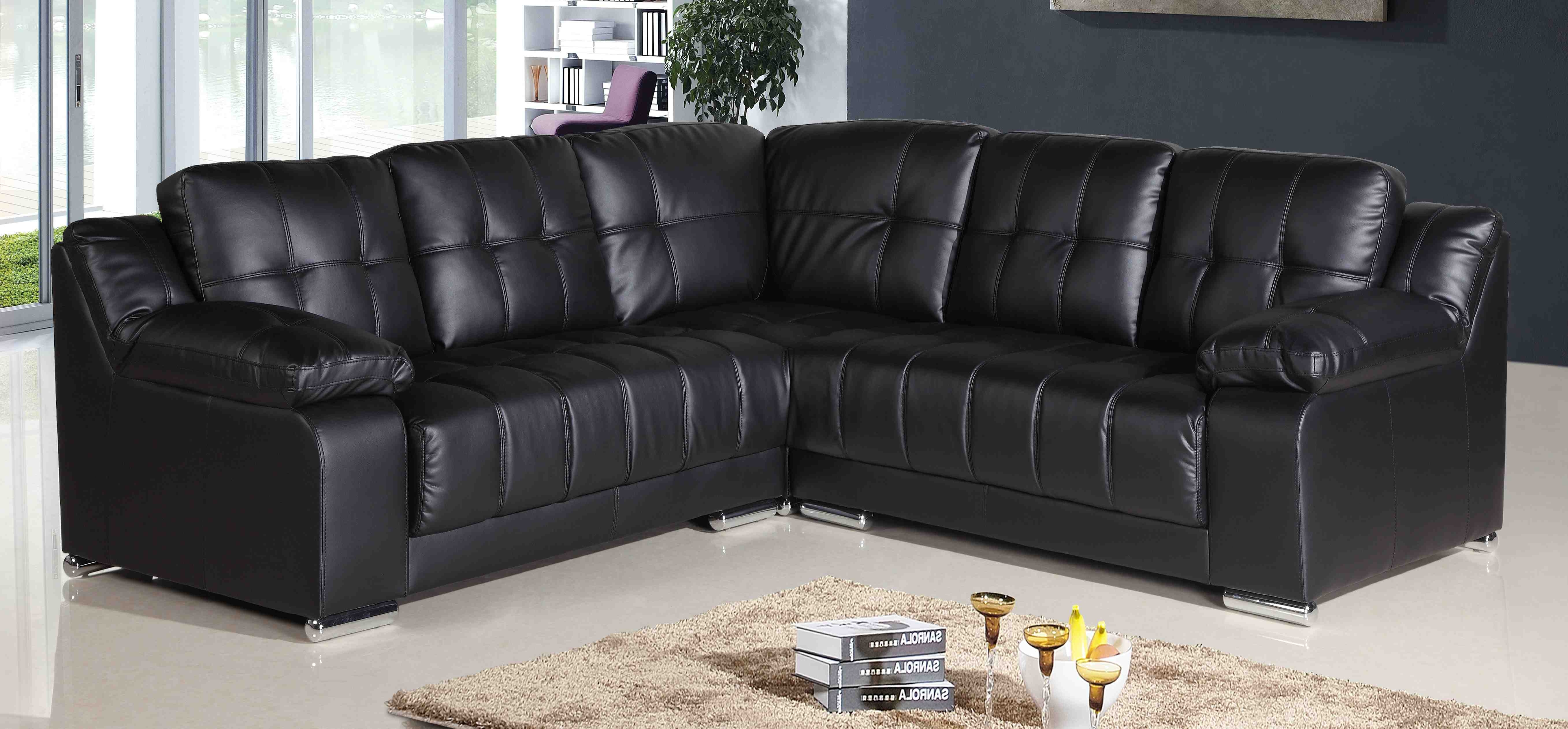 Awesome Leather Corner Sofa Awesome Leather Corner Sofa 80 In Pertaining To Corner Sofa Leather (Image 1 of 15)