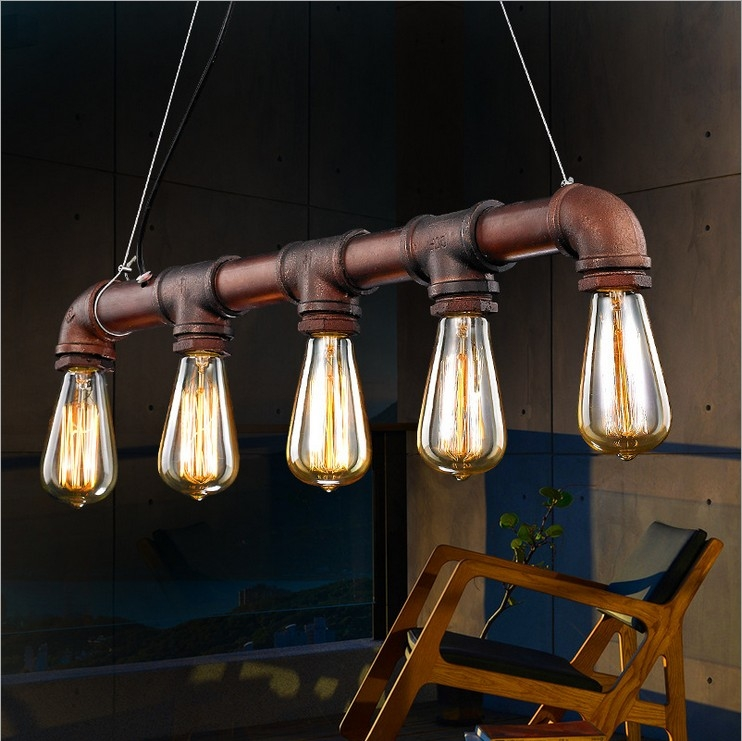 Awesome New Entrance Pendant Lights Throughout Aliexpress Buy Nordic Retro American Country Minimalist (Image 3 of 25)