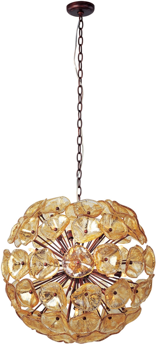 Awesome Popular Murano Glass Pendant Lights Pertaining To Murano Glass Pendants Blown Glass Pendant Lights (Image 4 of 25)