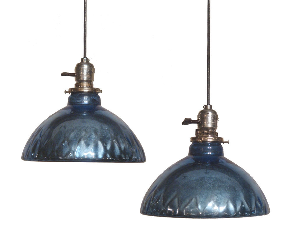 Awesome Premium Blue Mercury Glass Pendant Lights Throughout Lights Antique Interior Lights Design Ideas With Mercury Glass (Image 5 of 15)