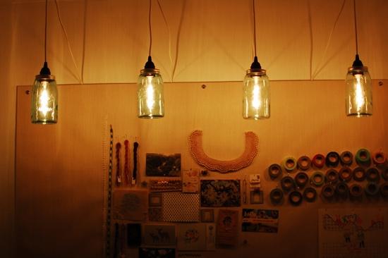 Awesome Premium Mason Jar Pendant Lamps Within Mason Jar Pendant Lights Design (Image 3 of 25)